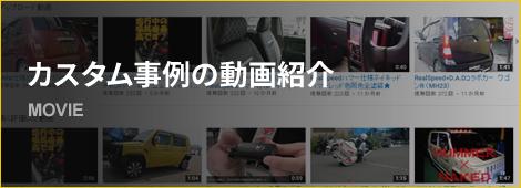 カスタム事例の動画紹介